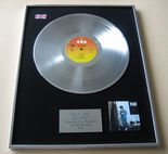 BILLY JOEL - 52nd Street PLATINUM LP PRESENTATION Disc